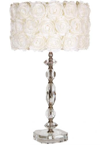 Medium Charlotte Crystal Lamp by Maura Daniel