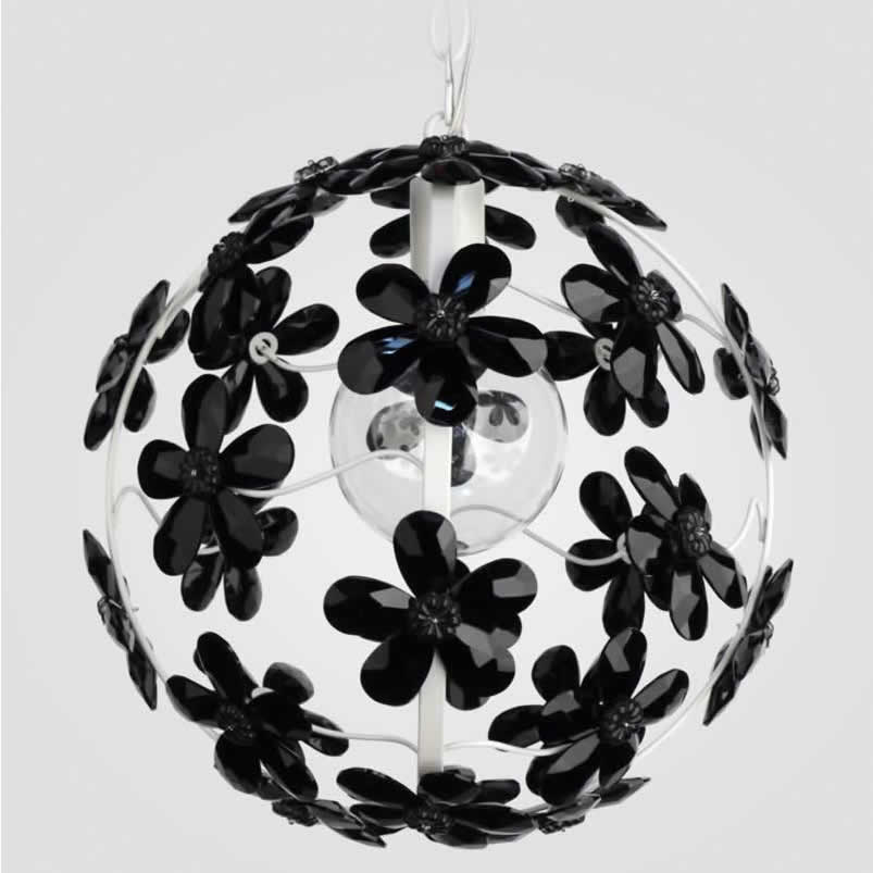 Chloe Black Crystal Chandelier by Maura Daniel Thumbnail 1