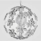 Chloe Clear Crystal Chandelier by Maura Daniel