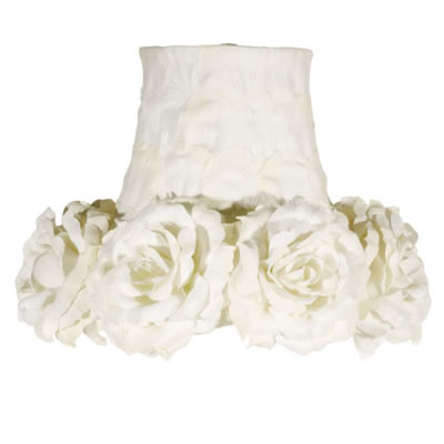 Know more about tonsils white flower lamp shade maura daniel custom lamp shades on white flower lamp shade by maura daniel aloadofball Gallery