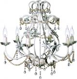 White Eleanor Chandelier Maura Daniel