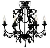Black Eleanor Chandelier Maura Daniel