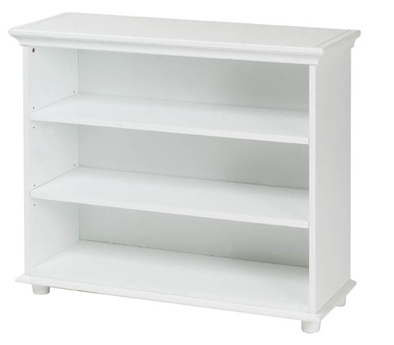 Huge 3 Shelf Bookcase By Maxtrix Kids (shown In White