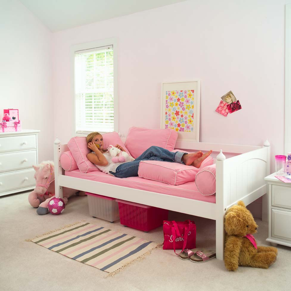 White Day Bed By Maxtrix Kids 230