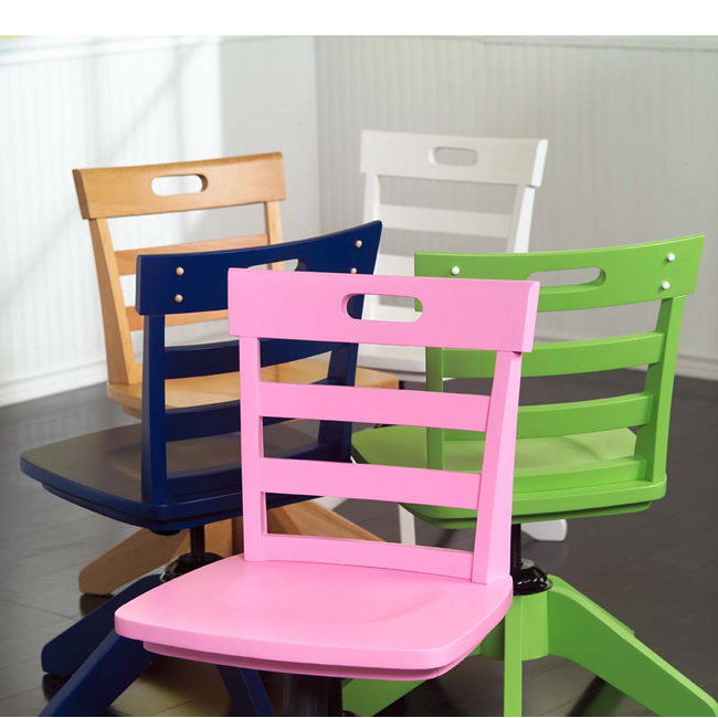 Kids Pink Desk Chair