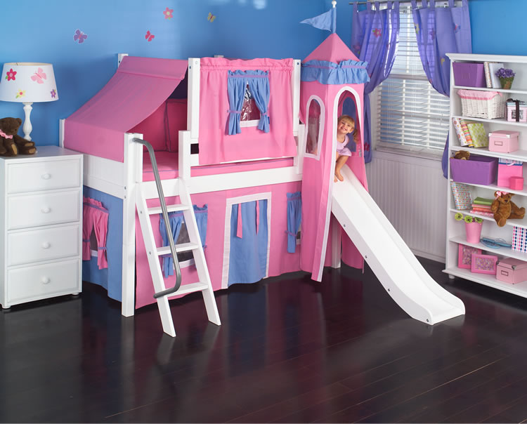 castle beds for toddlers 3