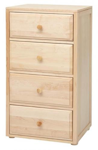 Basic 4 1/2 Drawer Dresser by Maxtrix Kids (shown in natural) Thumbnail