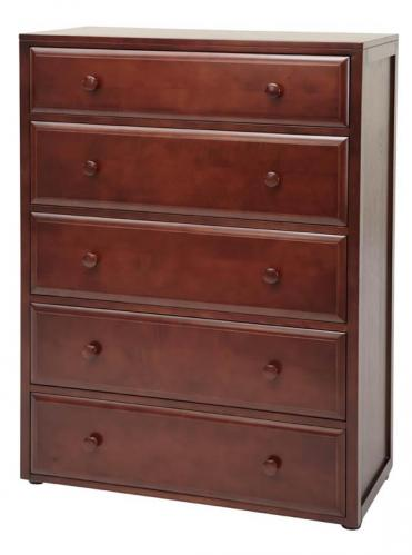 Basic 5 Drawer Dresser by Maxtrix Kids (shown in chestnut) Thumbnail