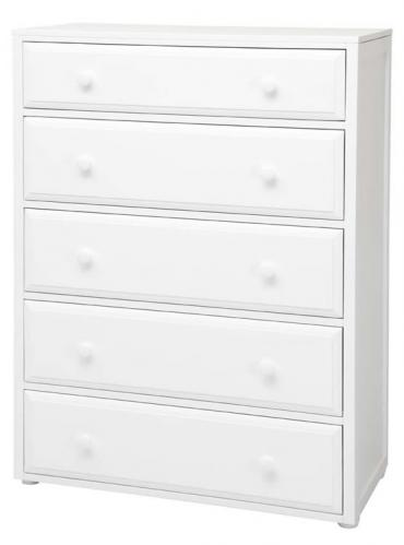 Basic 5 Drawer Dresser by Maxtrix Kids (shown in white) Thumbnail