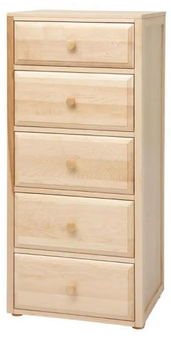 Basic 5 1/2 Drawer Dresser by Maxtrix Kids (shown in natural) Thumbnail