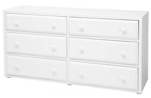 Basic 6 Drawer Dresser by Maxtrix Kids (shown in white) Thumbnail