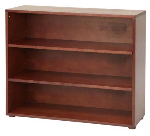 Basic 3 Shelf Bookcase by Maxtrix Kids (shown in chestnut) Thumbnail