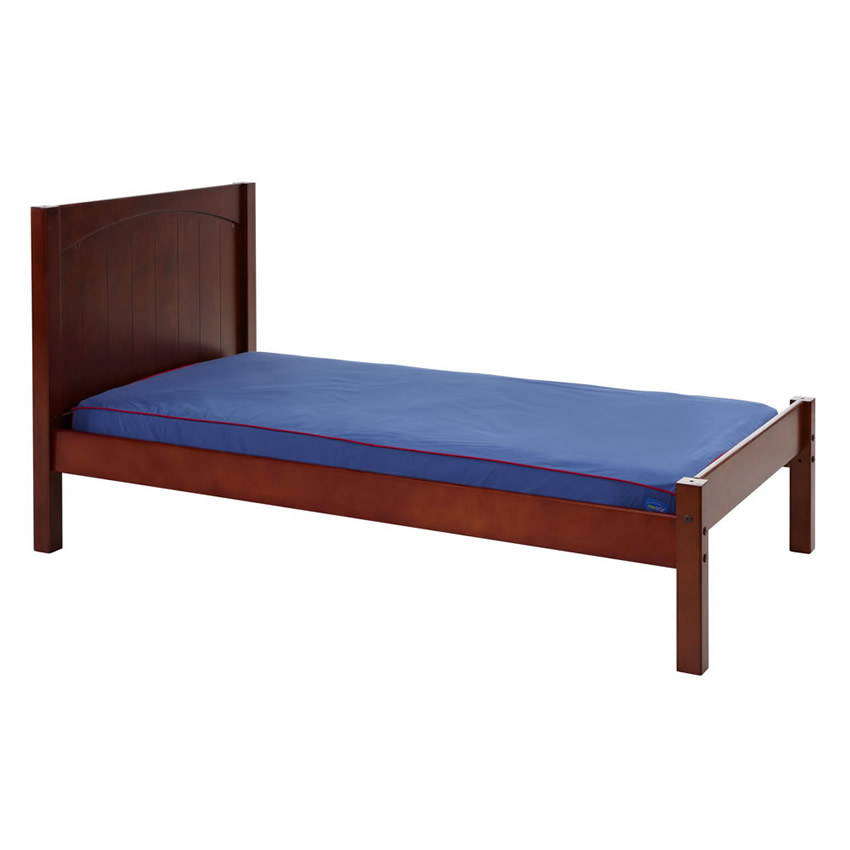 Platform Bed in Chestnut with Panel Bed Ends by Maxtrix (200) Thumbnail 3