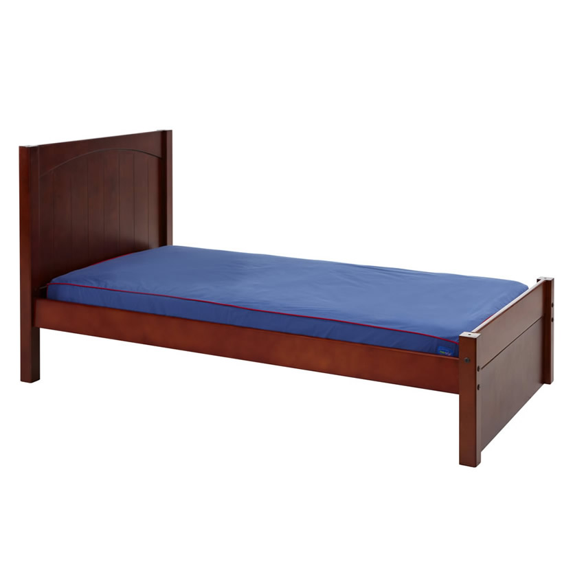 Platform Bed in Chestnut with Panel Bed Ends by Maxtrix (200) Thumbnail 1