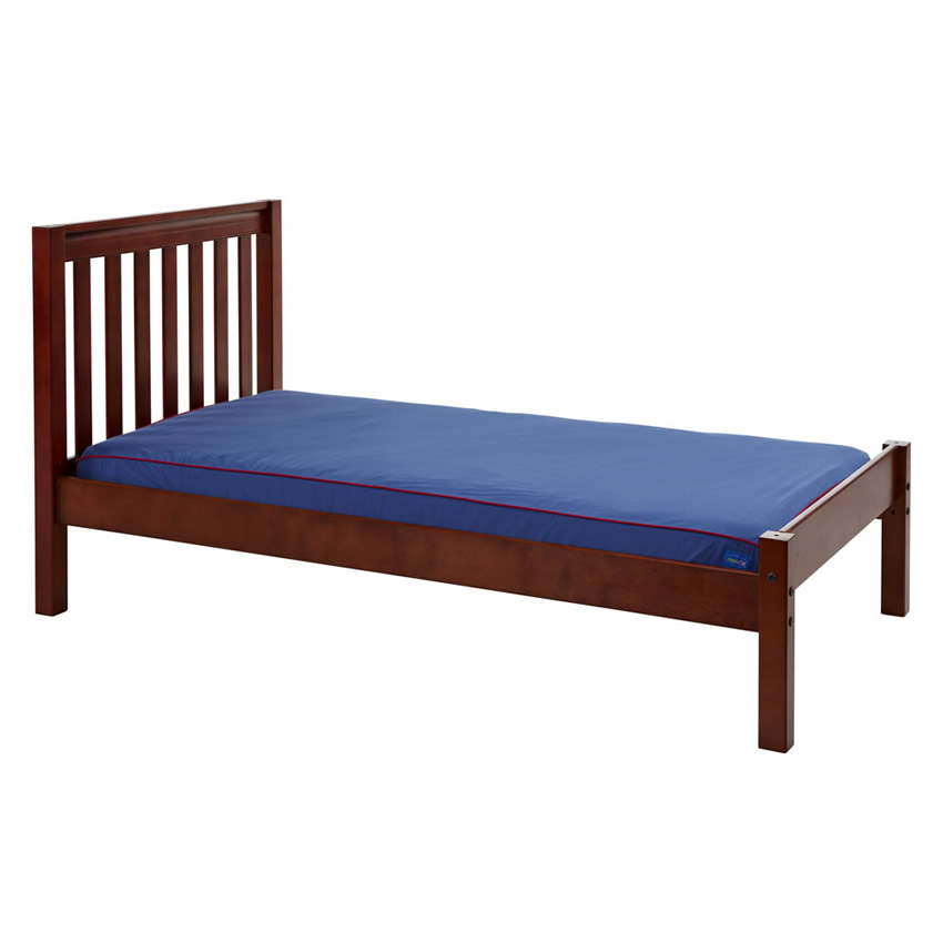 Platform Bed in Chestnut with Slat Bed Ends by Maxtrix (200) Thumbnail 2