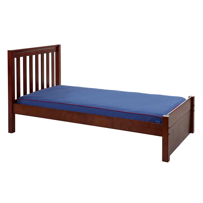 Platform Bed in Chestnut with Slat Bed Ends by Maxtrix (200) Thumbnail 1