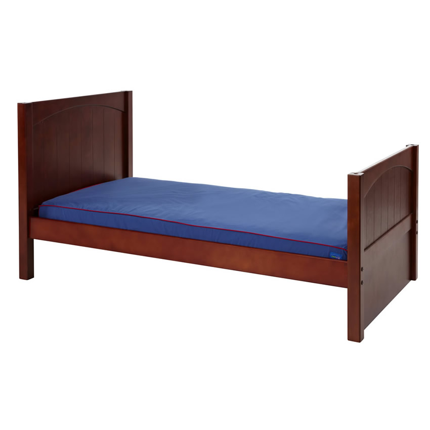 Twin Bed in Chestnut with Panel Bed Ends by Maxtrix (210) Thumbnail 1