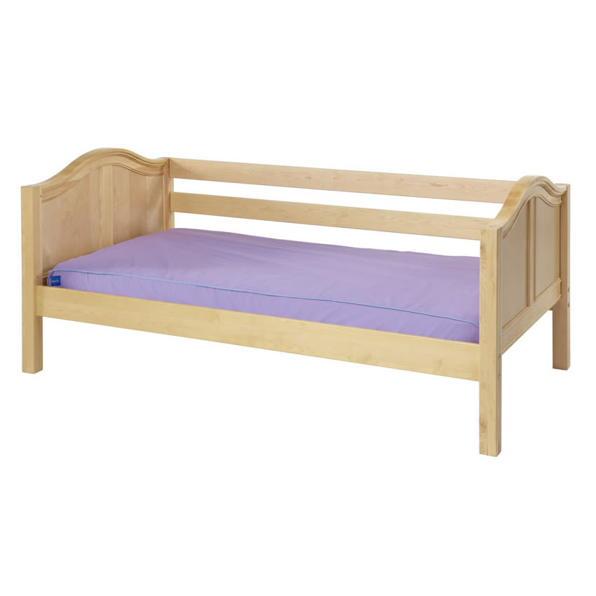 Daybed In Natural With Curved Bed Ends By Maxtrix 230