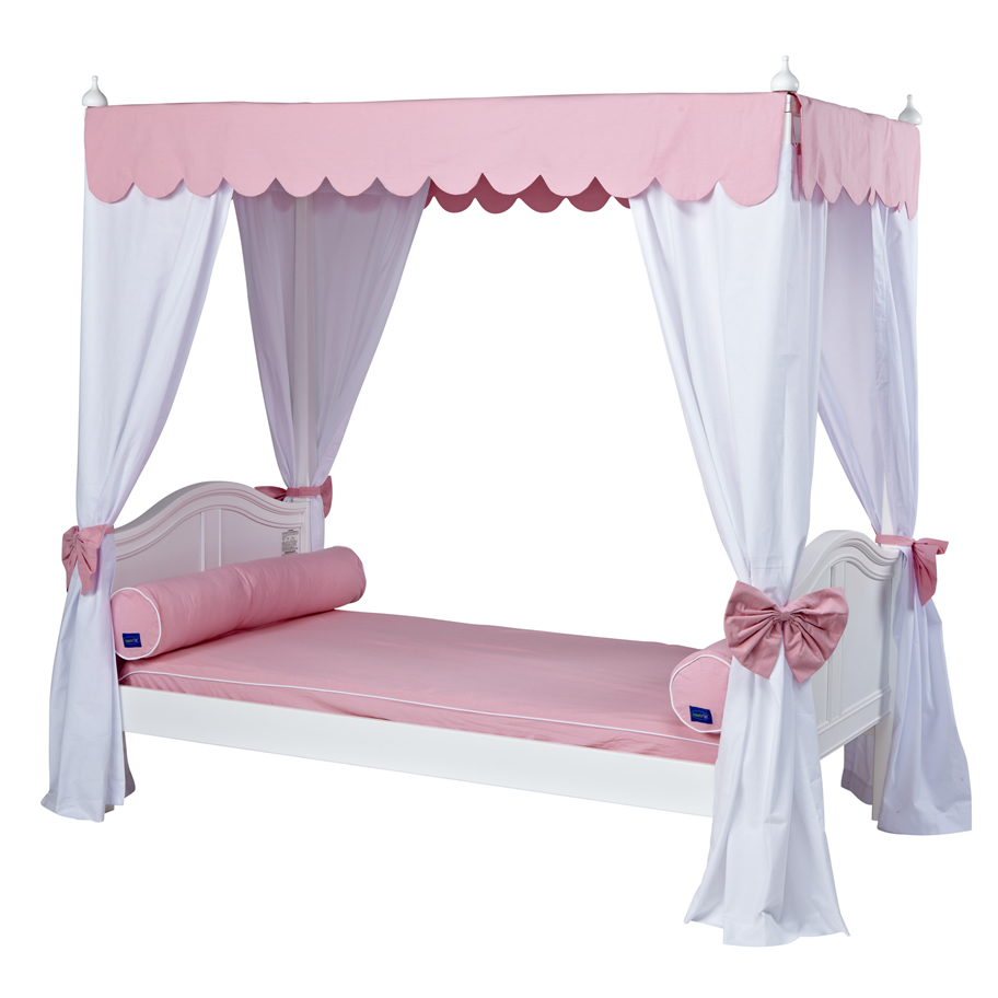 sc 1 st  Sweet Retreat Kids & Goldilocks 2 Canopy Bed with Curved Bed Ends by Maxtrix (260.2)