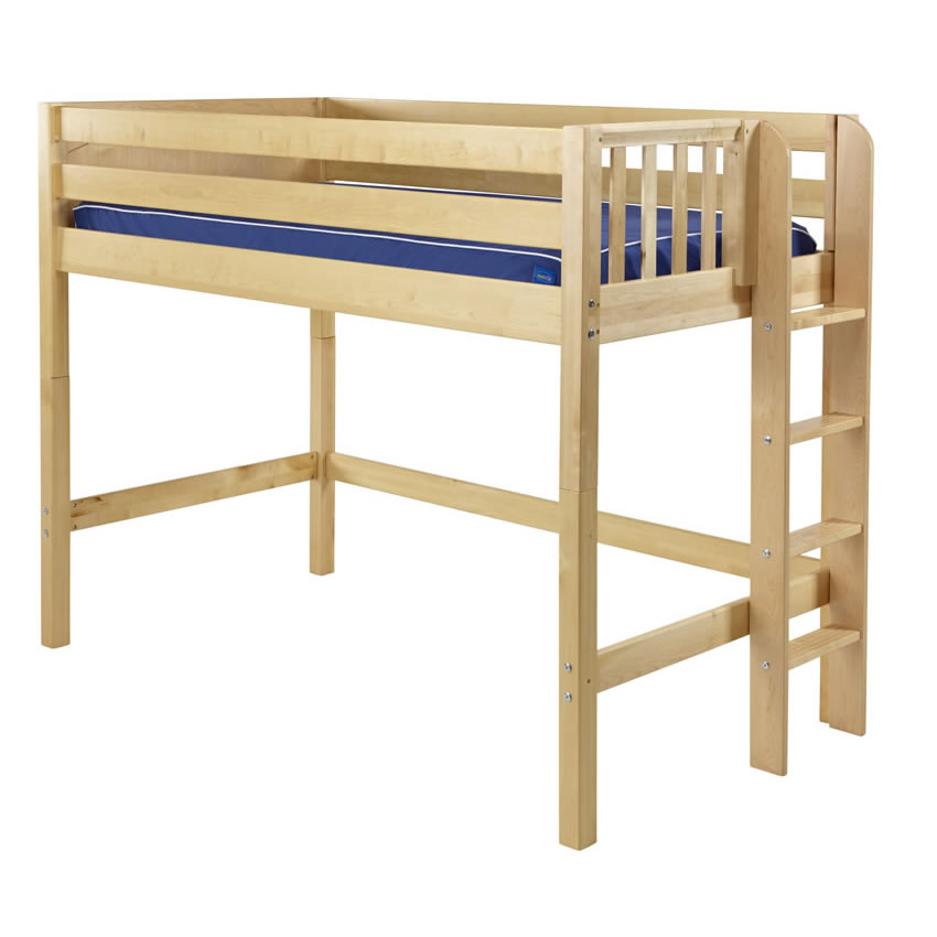Loft Bed with Side Ladder 850 x 850