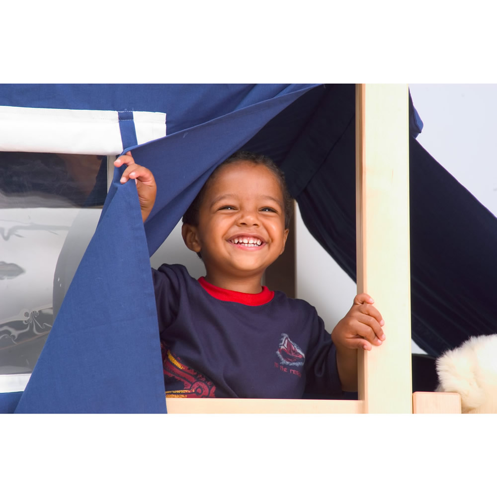 Maxtrix Galant Playhouse Mid Loft in Natural w/ Stairs (Panel Bed Ends) (405.1) Thumbnail 1