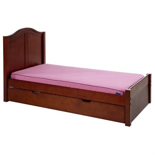 Platform Bed in Chestnut with Curved Bed Ends by Maxtrix (200) Thumbnail