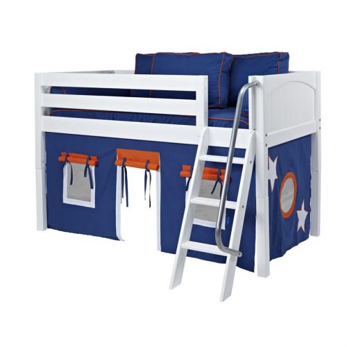 Blue and Orange Easy Rider Tent Bed in White by Maxtrix (300.1)