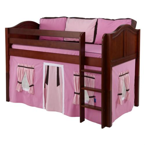 Pink and Brown Low Rider Tent Bed in Chestnut by Maxtrix (300.1)