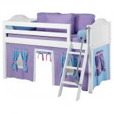 Purple and Blue Easy Rider Tent Bed in White by Maxtrix (300.1)