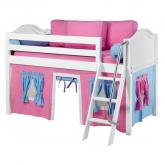 Hot Pink and Blue Easy Rider Tent Bed in White by Maxtrix (300.1)