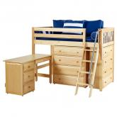 Kaching 1 L Storage Bed in Natural by Maxtrix (632)
