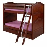 Hot Hot Bunk Bed in Chestnut by Maxtrix (700.0)