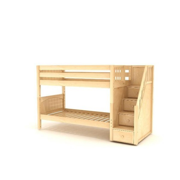 75800013de655 Stacker Low Bunk Bed by Maxtrix Kids  Natural
