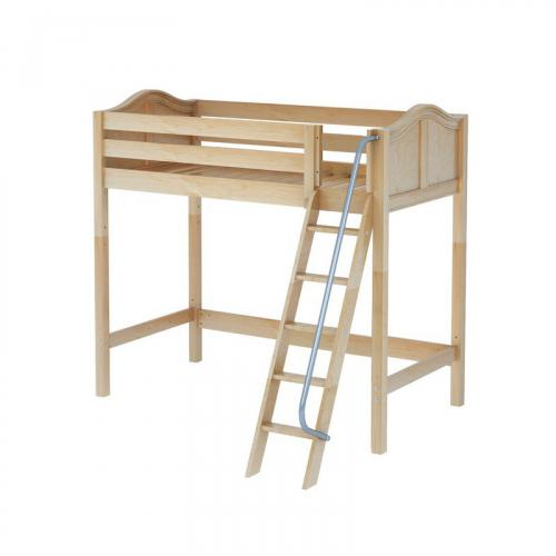Knockout High Loft by Maxtrix Kids: Natural, Curved, Twin