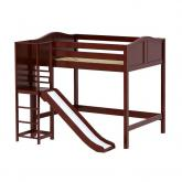 Groove High Loft by Maxtrix Kids: Chestnut, Curved, Full, Slide