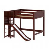 Groove High Loft by Maxtrix Kids: Chestnut, Panel, Full, Slide