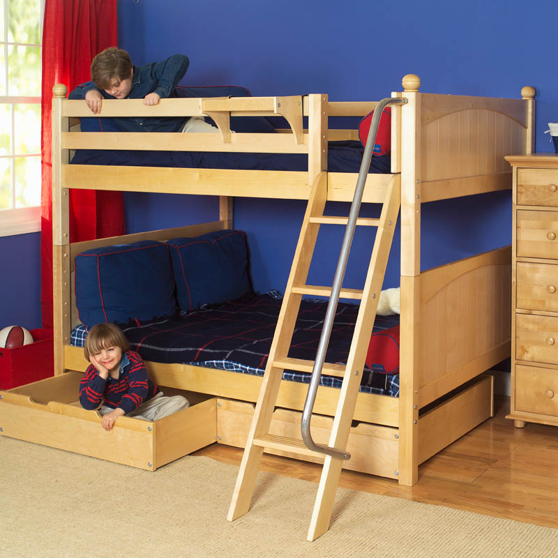 Natural Boys Bunk Bed By Maxtrix Kids 700 0