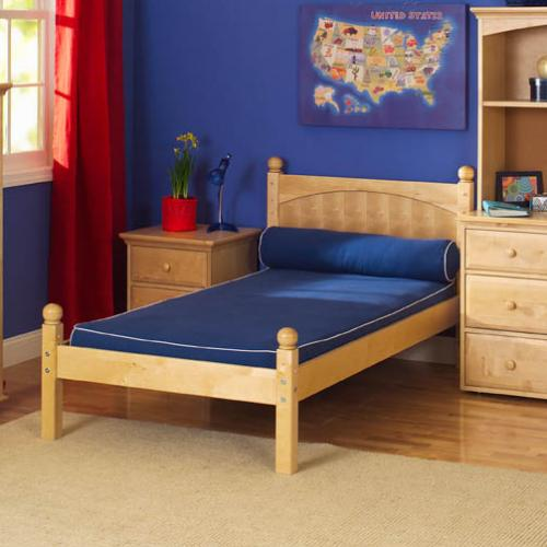 Kids' Platform Bed in Natural Finish by Maxtrix Kids (200)