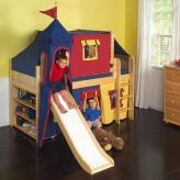 Under the Big Top Circus Bed with Slide by Maxtrix Kids (370)