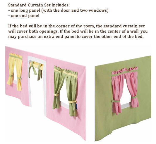 Maxtrix Kids Curtain Colors
