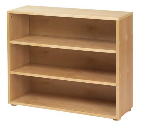 Basic 3 Shelf Bookcase by Maxtrix Kids (shown in natural) Thumbnail