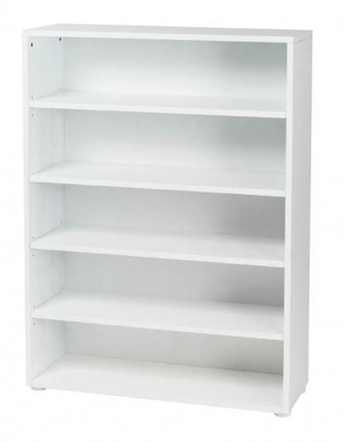 Basic 5 Shelf Bookcase by Maxtrix Kids (shown in white) Thumbnail