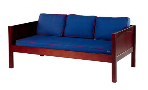 Chestnut Daybed by Maxtrix Kids w/ Blue and Red (230)