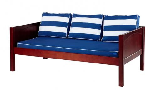 Chestnut Daybed by Maxtrix Kids w/ Blue and White (230)