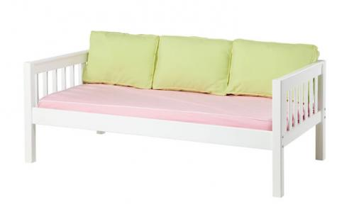 White Daybed by Maxtrix Kids w/ Pink and Green (230)