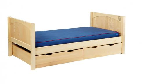 Traditional Natural Twin/Full Bed by Maxtrix Kids (panel) (220)