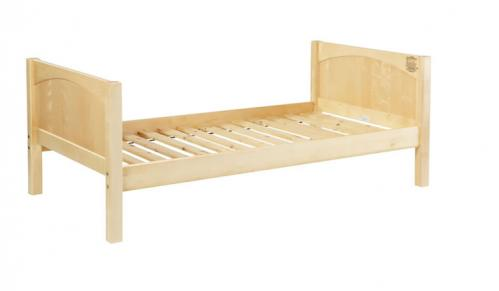 Natural Twin/Full Bed by Maxtrix Kids (panel) (220)