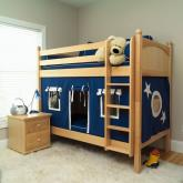 HOT SHOT Bunk Bed in natural by Maxtrix Kids (700.1)