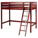 Knockout High Loft by Maxtrix Kids: Chestnut, Slats, Twin