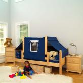 YO 22 Boy's Toddler-Safe Bed by Maxtrix Kids (250)
